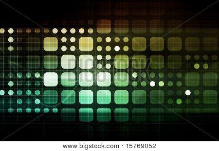 Netzwerksicherheit mit Internet-Daten als Konzept