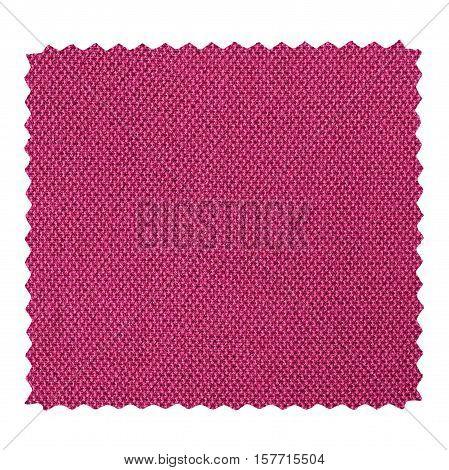 Purple Zigzag Fabric Sample