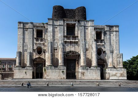 Benedictine Monastery Of San Nicolo L'arena In Catania
