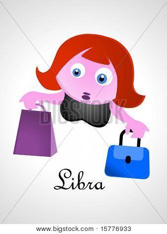 Zodiac signs / icons - libra