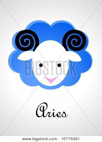Zodiac signs / icons - aries