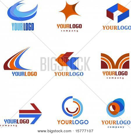 SET OF ABSTRACT ICONS, VECTOR FILE