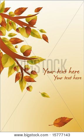 Autumn background /  banner -  for additional works of this kind, CLICK ON MY NICKNAME BELOW TO VISIT MY GALLERY
