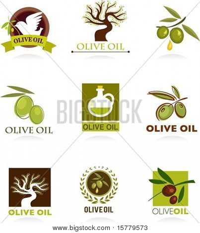 Collections of olive icons