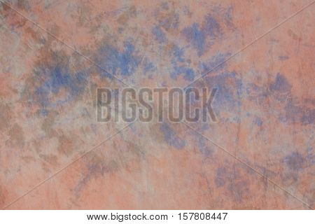 Painted canvas or muslin fabric cloth studio backdrop or background suitable for use with portraits products and concepts. Light blue painted design.