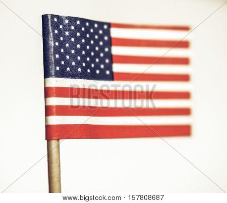 Vintage Looking American Flag
