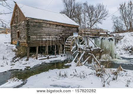 Old watermill in