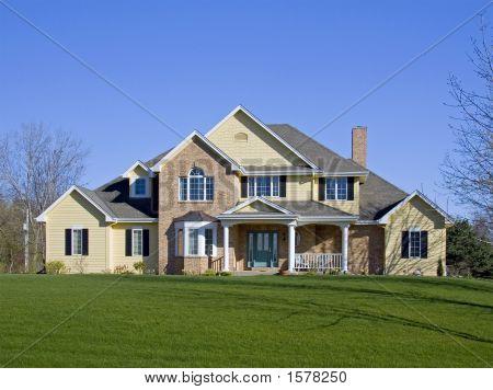 Large Executive Brick Home