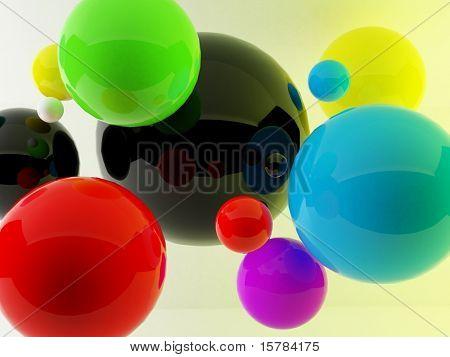 bolas 3D
