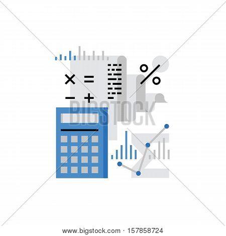 Accounting Monoflat Icon.