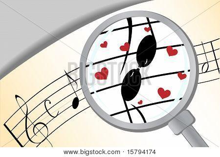 Music in love