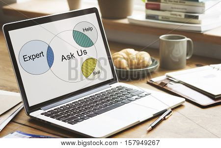 Consult Opinion Ask us Tips Helpful Advice Concept