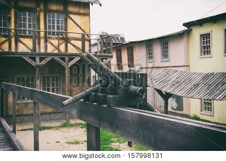 Historical City, Wood City, Film Decorations, Old City, Abandoned City