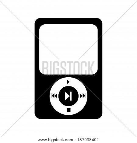 music player mp3 icon vector illustration design
