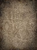 stock photo of brocade  - Grungy brocade background - JPG