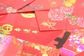 Chinese Red Packets also known as Ang Pows poster