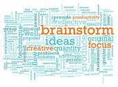 A Brainstorm Session Concept as a Abstract