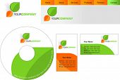 foto of web template  - Template design of logo - JPG