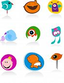 collection of baby icons