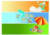 Summer Holiday (Vector) poster