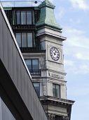 Building Clock poster
