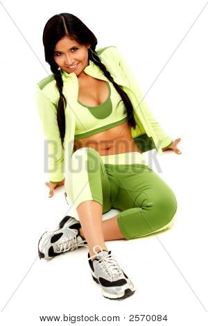 Gym Girl Portrait