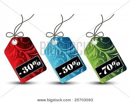 Tags ventas florales