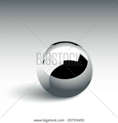 Bola de cromo