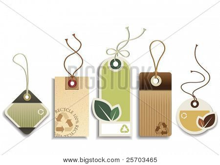 Eco Recycle Tags