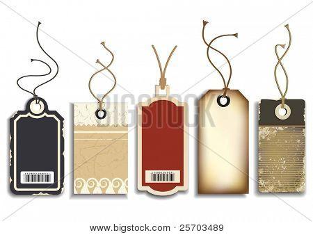 Tags ventas cartón