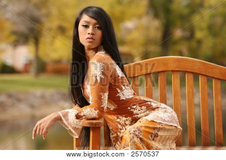 Asian Indonesian Girl