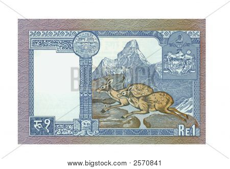 1 Rupee Bill Of India
