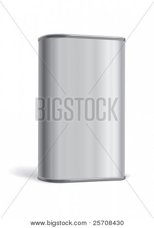 Metal box, vector
