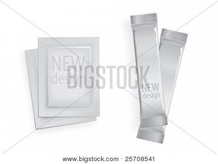 sugar bag for new design, vector