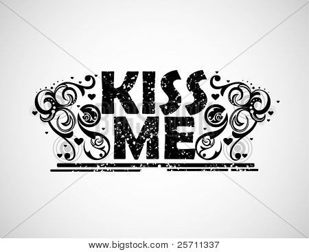 Kiss me background
