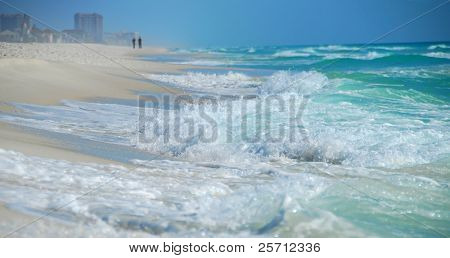 Lone Couple by Roaring Surf