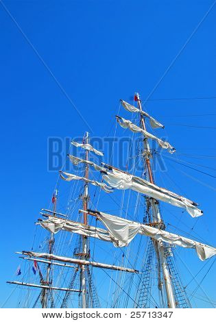 Clipper Ship Masts