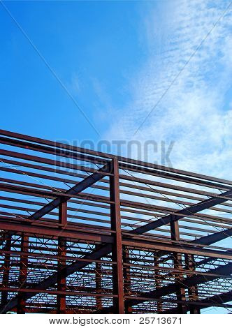 Construction Girder and Steel Beams