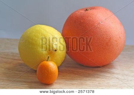 Trio zitronigen Güte