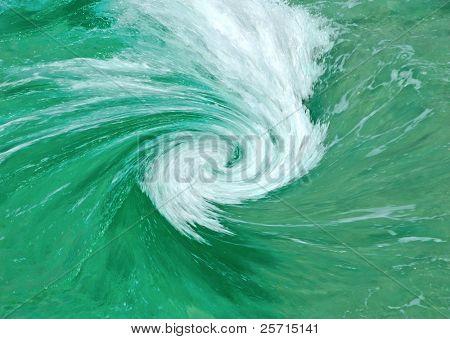 Ocean Whirlpool Vortex