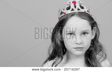 Young Beauty with Tiara