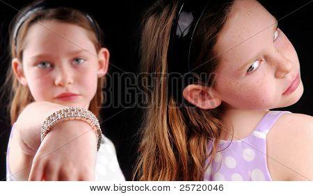 Rivalry or jealousy between girls