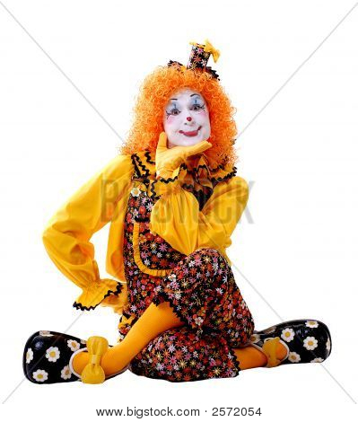 Female Circus Clown