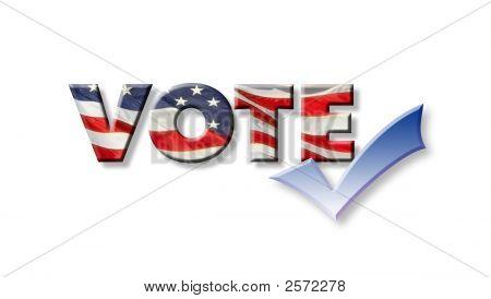 Voto con marca de verificación