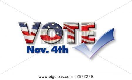 4. November abstimmen