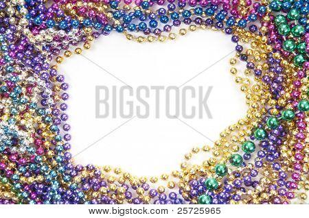 holiday or mardi gras beads makingframe