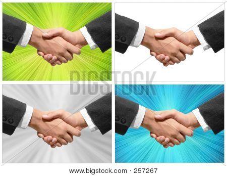 Kooperative Hand Erschütterungen