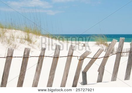 sand dune on Perdido Key, Florida