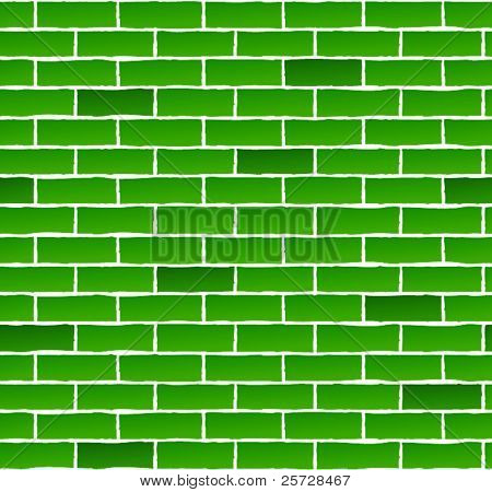 texture green bricks