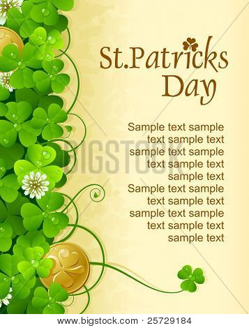 Patrick's Day vertical frame 6